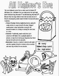 Religious Halloween Crafts - religious education catholic catechist lesson plans crafts