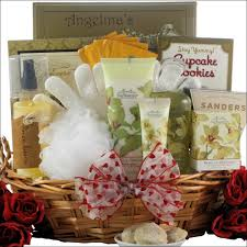 san francisco gift baskets vanilla orchid spa luxuries bath s day gift basket
