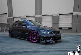 lexus is300 19 inch rims gray graphite pearl is300 fatlace since 1999