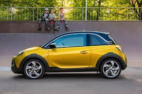 opel adam yellow opel adam rocks first drive motor trend