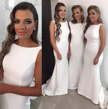 white bridesmaids dresses gallery braidsmaid dress cocktail