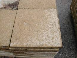 Reclaimed Patio Slabs Concrete Paving Slabs Yellow 18 X 18 Inch Ben U0027s Tiles And