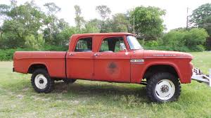 dodge trucks through the years tough crew cab 1963 dodge power wagon