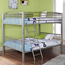 zenner unique metal full over full bunk bed hayneedle