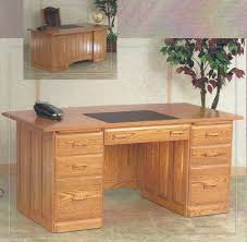 Executive Desk Solid Wood Home Office Furniture Flat Top Desks