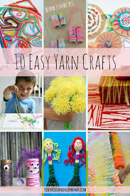 10 easy yarn projects for kids friday funday roundup