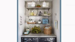 small laundry room cabinet ideas small laundry room ideas better homes gardens