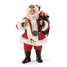 possible dreams santa department 56 possible dreams santa harley davidson rebel figure