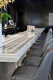 bar top sealant commercial restaurant white marble stone sealing 415 671 1149