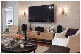 Living Room Set With Tv Adorable Living Room Set With Tv Including Wall Mounted Flat