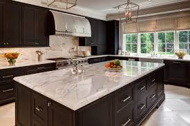 kitchen with black island and white cabinets 20 polished kitchens with striking black kitchen islands