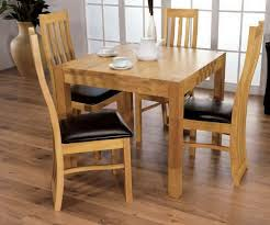 4 Chair Dining Sets Buy Furniture Link Oak Dining Set Square With 4