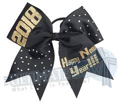 new years bow tie happy new year 2018 cheer bow