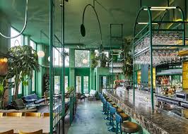 Home Elements Design Studio San Francisco Quirky Chic Amsterdam Restaurant Brings Elements Of Rainforest