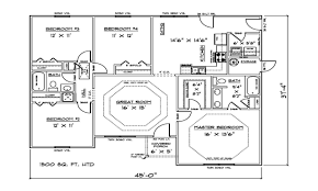 1500 sf house plans 1500 sq ft 4 bedroom house plans open concept house plans open
