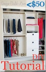 50 handmade closet kit tutorial day 4 30 days to an organized