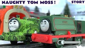 thomas friends samson naughty tom moss prank dinosaur trucks 5