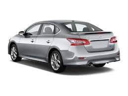 nissan sedan 2014 image 2014 nissan sentra 4 door sedan i4 cvt sr angular rear