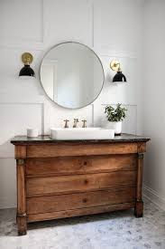 Bathroom Vanity With Farmhouse Sink by Chicago Narrow Bathroom Vanity Farmhouse With Wall Sconces Cross