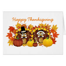 thanksgiving owl cards invitations greeting photo cards zazzle