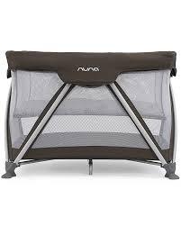 Mini Travel Crib by Nuna Sena Travel Cot Coffee Easy To Open U0026 Close Unisex Bambini