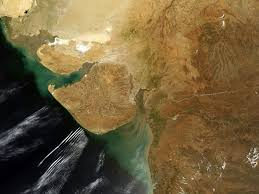 India Satellite Map by File Gujarat Satellite View Jpg Wikimedia Commons