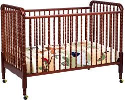 davinci jenny lind 3 in 1 convertible crib white bedroom interesting brown wood jenny lind crib with cozy floral