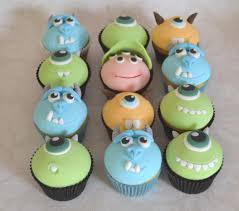 inc baby shower monsters inc baby shower cupcakes home party theme ideas