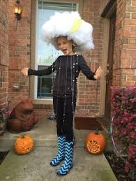 Womens Homemade Halloween Costume Ideas Rain Clouds Costume Http Www Halloweencostumeideas Biz