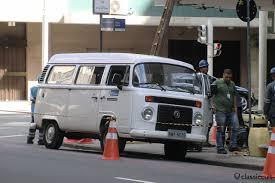 volkswagen kombi 2016 vw bay window bus on rio de janeiro streets classiccult