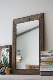 Wood Mirrors Bathroom Rustic Wall Mirror Wall Mirror 20 X 24 Vanity