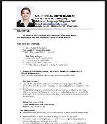 no experience resume examples for students resume sample for fresh graduate teachers svoboda2 com