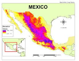 Mexico On The Map by Luigi U0027s Gis Blog This Is A Blog I U0027ve Created For The Course Of