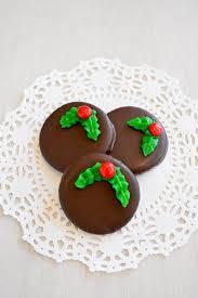 christmas wreath cookies mock thin mints kitchen gidget