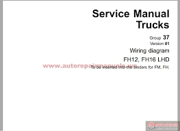volvo fh12 c type workshop manual group 37 auto repair manual