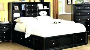 King Size Storage Headboard Headboard With Storage Size Storage Bed Plus Bookcase