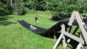 Backyard Slip N Slide Super Duper Slip And Slide 3 Steps With Pictures