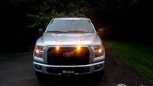 strobe light installation truck construction truck strobe lights led lights for commercial work