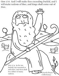 abraham coloring page genesis 17 6