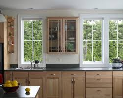 Maine Kitchen Cabinets Birch Kitchen Cabinets Houzz