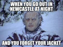 First Of The Month Meme - my first months in newcastle