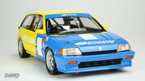 si e auto 1 inno model honda civic si e at spoon jtcc 1985 resin scale 1 18
