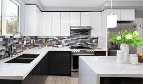 gloss white kitchen cabinet doors frameless kitchen cabinets custom service hardware