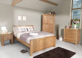 Light Oak Furniture Rustic Wood Bedroom Sets Solid Oak Furniture Tilson King Size Ebay