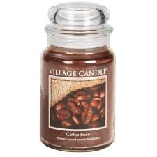 coffee bean candle coffee bean large glass jar traditions scented candle
