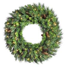 Christmas Tree Wreath Form - artificial christmas wreaths you u0027ll love wayfair