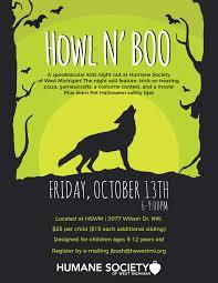 howl n u0027 boo kids night out
