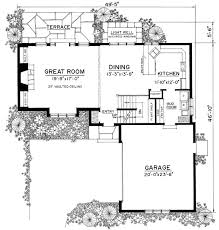 cottage floor plans tasteful english style cottage 43045pf architectural designs