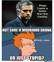 Mourinho Meme - mourinho drunk by klement toca meme center