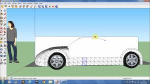 making a car in google sketchup 8 pt1 youtube
